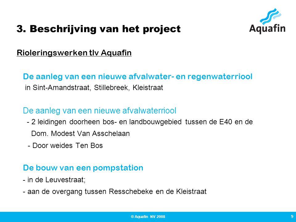 3. Beschrijving van het project