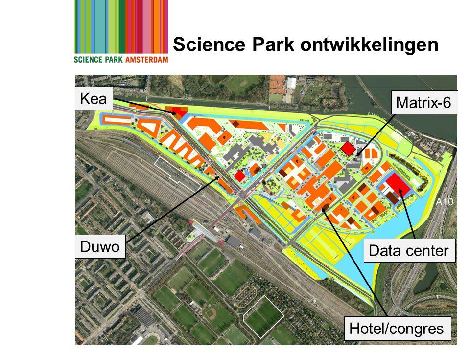 Science Park ontwikkelingen