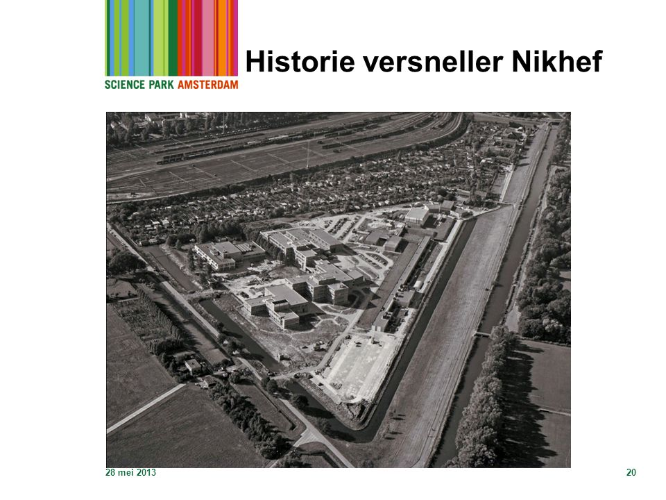 Historie versneller Nikhef