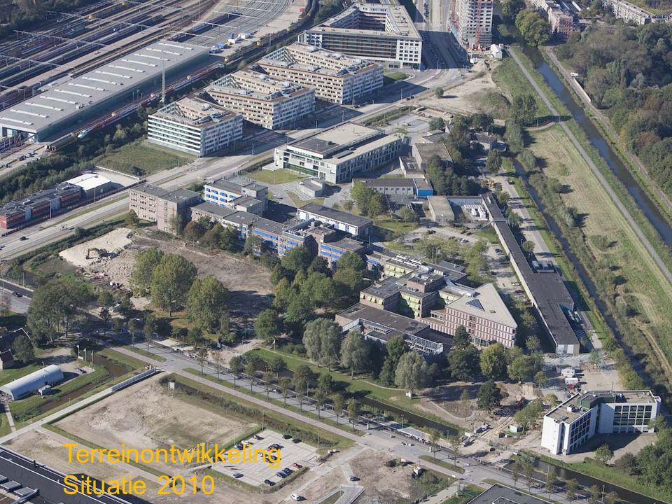 Luchtfoto 2010-2011 Terreinontwikkeling Situatie 2010