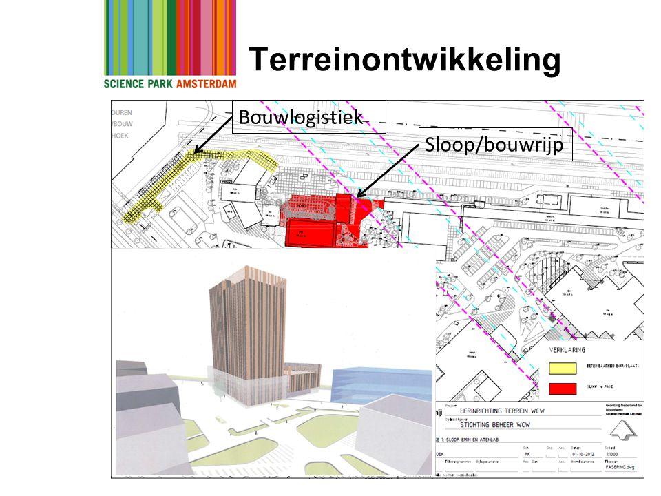 Terreinontwikkeling Bouwlogistiek Sloop/bouwrijp