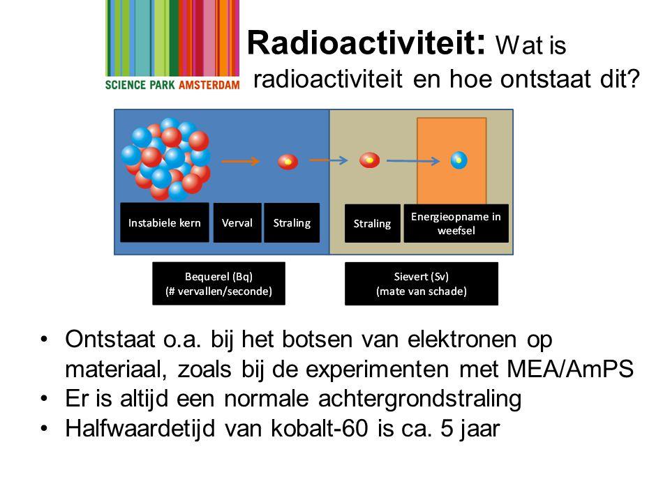 Radioactiviteit: Wat is radioactiviteit en hoe ontstaat dit