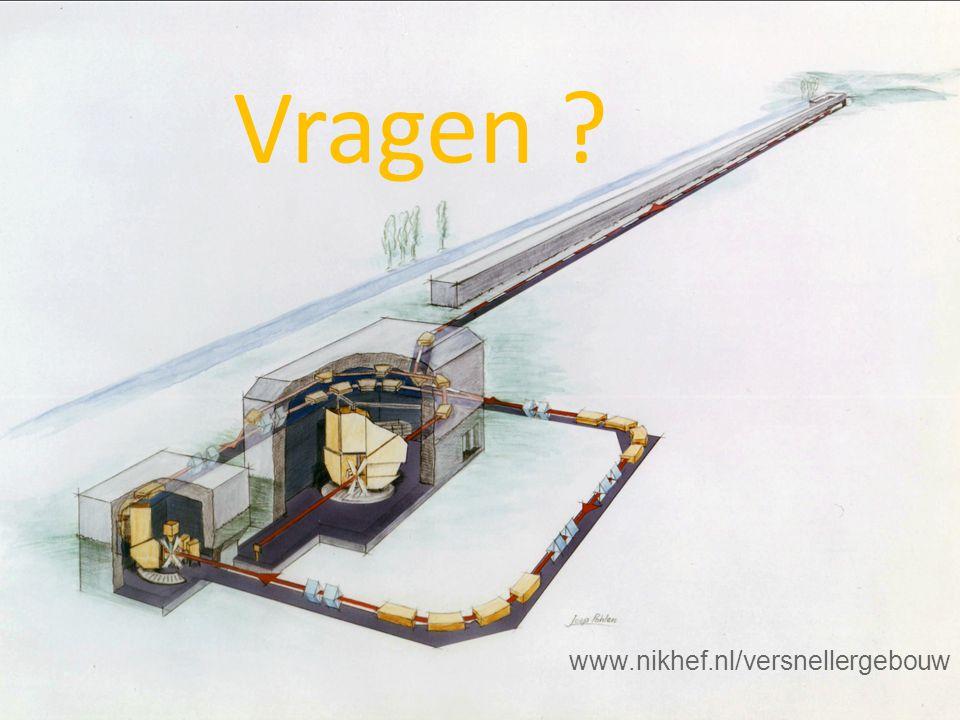 Vragen www.nikhef.nl/versnellergebouw