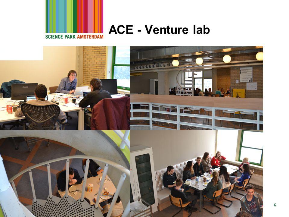ACE - Venture lab 28 mei 2013