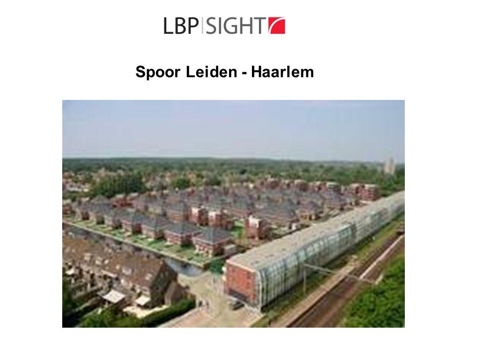 Spoor Leiden - Haarlem