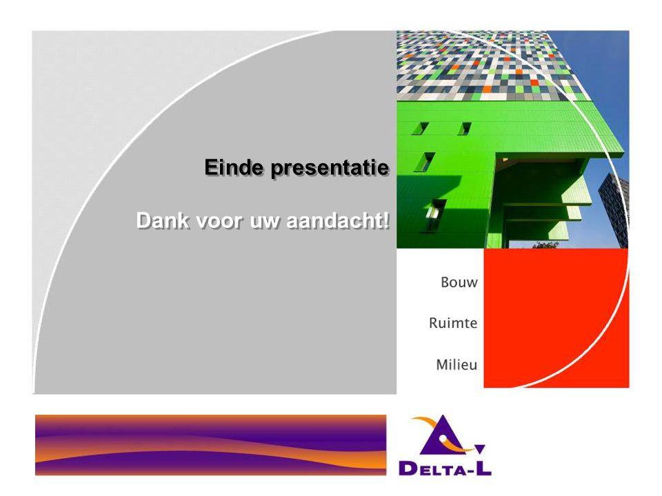 Einde presentatie Dank voor uw aandacht!