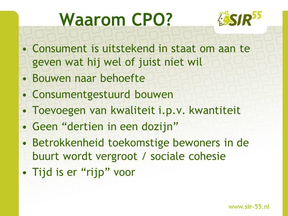 Waarom CPO Consument is uitstekend in staat om aan te geven wat hij wel of juist niet wil. Bouwen naar behoefte.