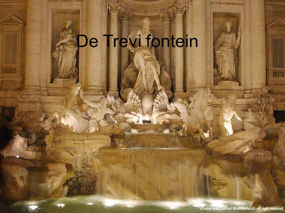 De trevifontein De Trevi fontein Door Arnold Bosch en Niek Kremers