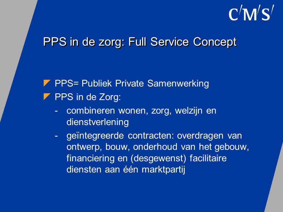 PPS in de zorg: Full Service Concept