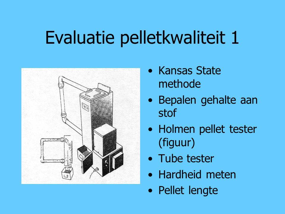 Evaluatie pelletkwaliteit 1
