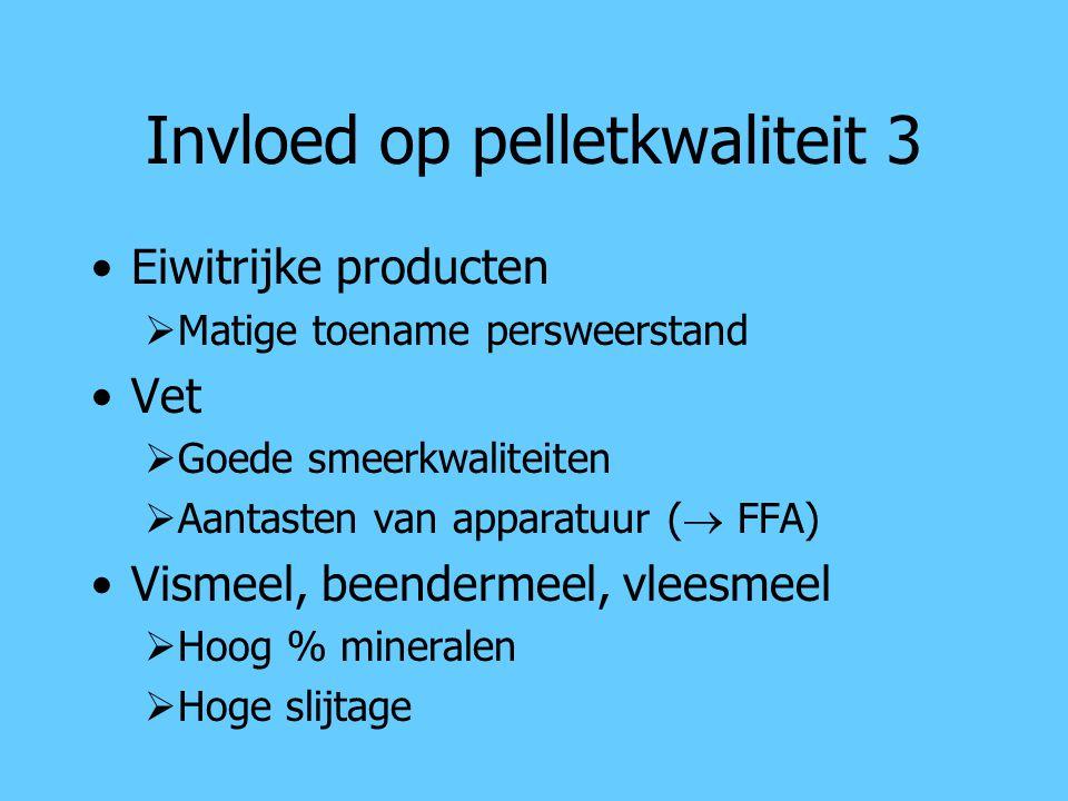 Invloed op pelletkwaliteit 3