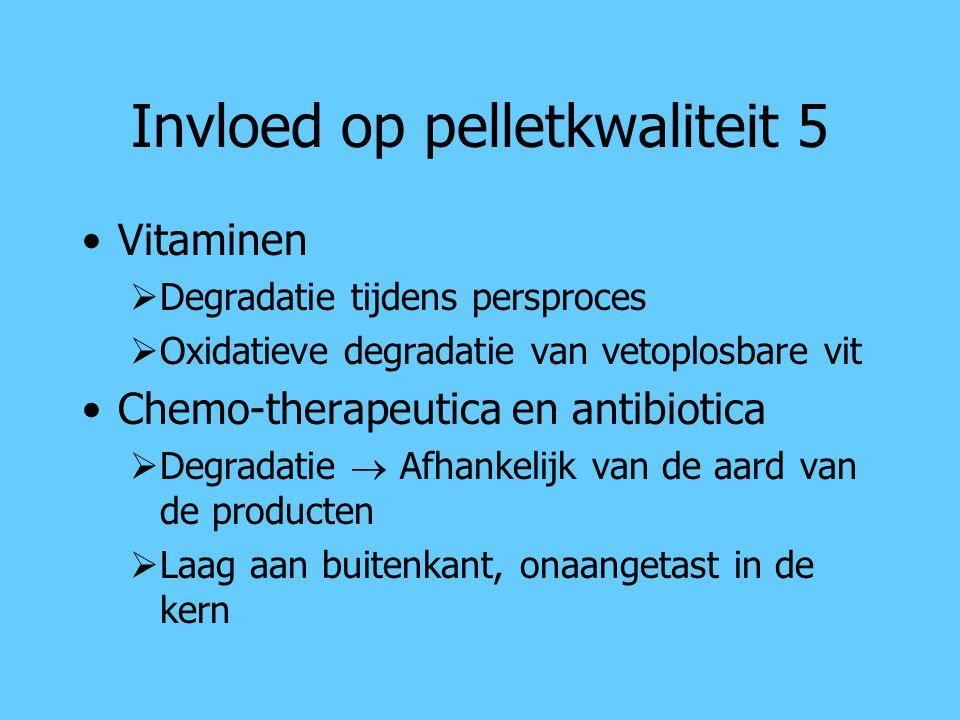 Invloed op pelletkwaliteit 5