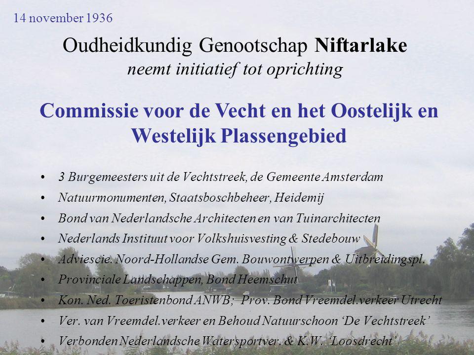 Oudheidkundig Genootschap Niftarlake neemt initiatief tot oprichting