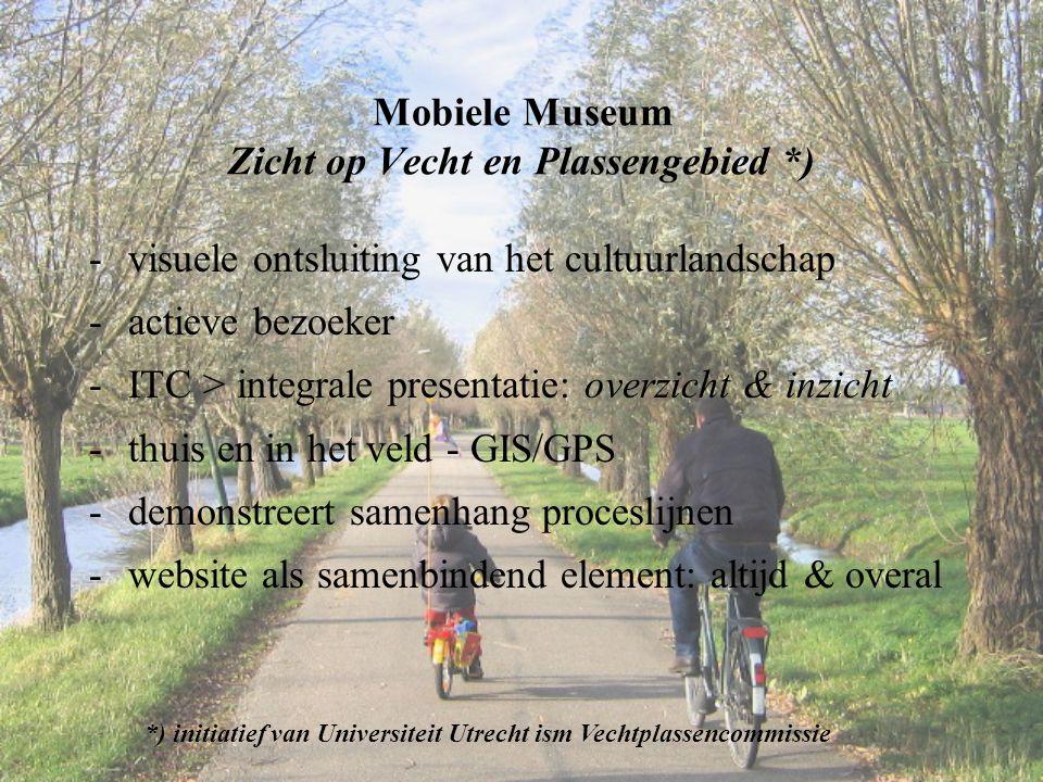 Mobiele Museum Zicht op Vecht en Plassengebied *)