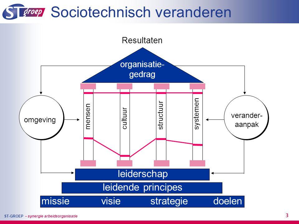 Sociotechnisch veranderen