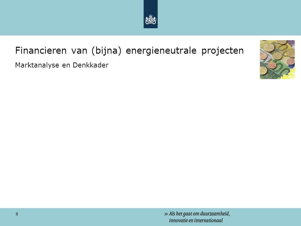 Financieren van (bijna) energieneutrale projecten