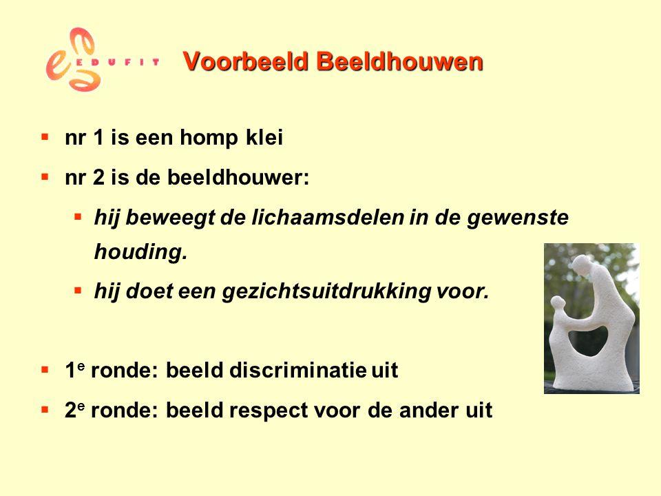Voorbeeld Beeldhouwen