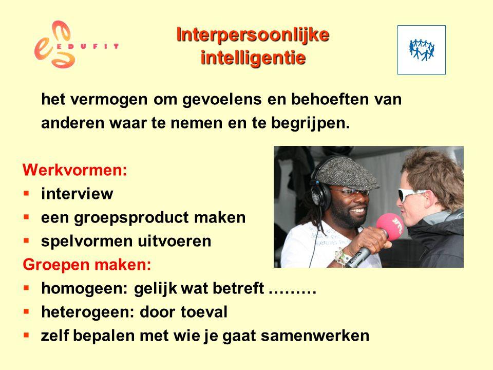 Interpersoonlijke intelligentie