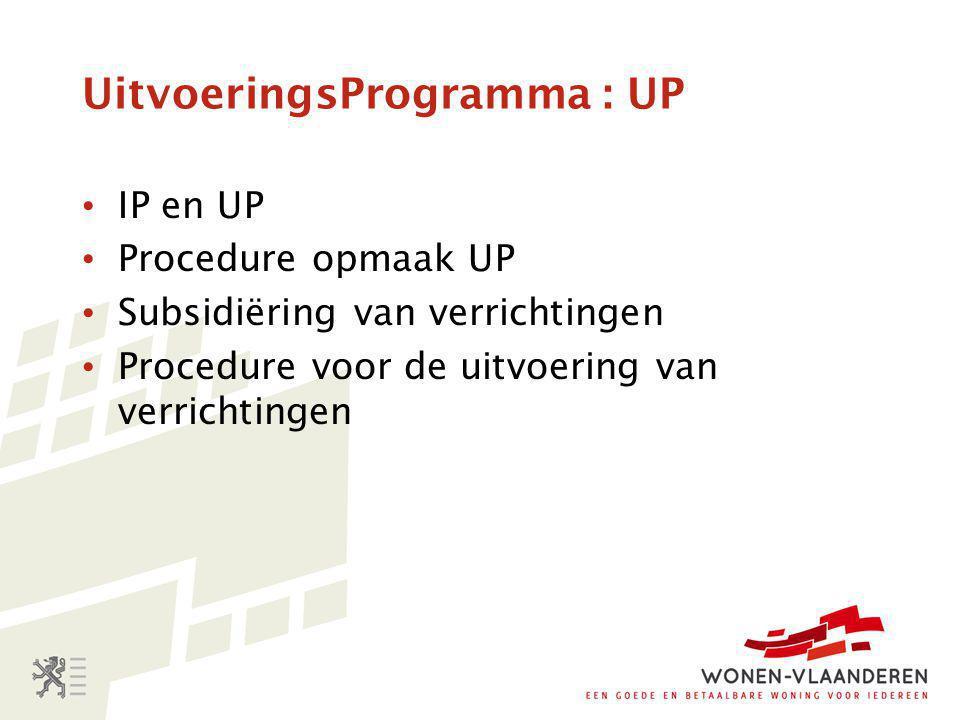 UitvoeringsProgramma : UP