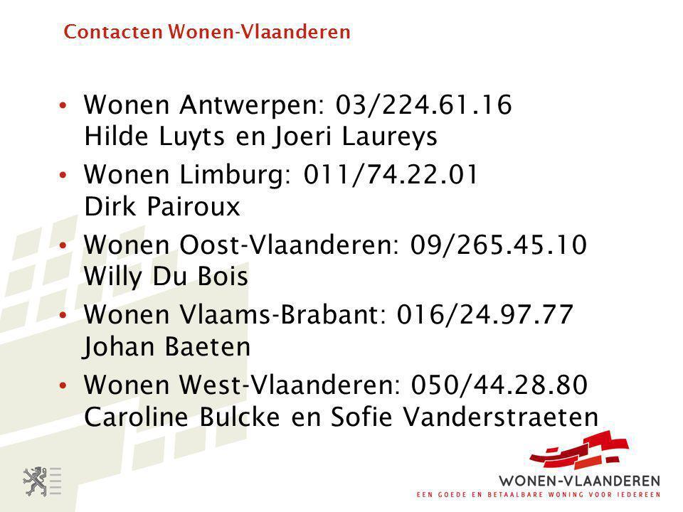 Contacten Wonen-Vlaanderen