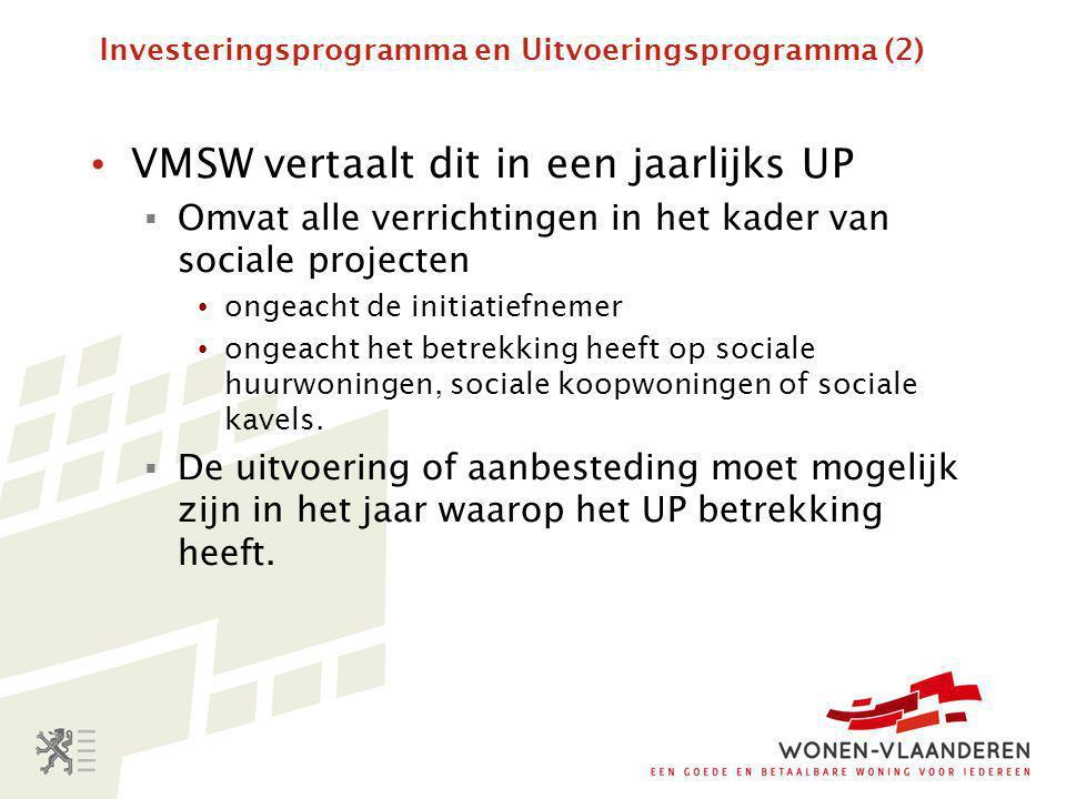 Investeringsprogramma en Uitvoeringsprogramma (2)
