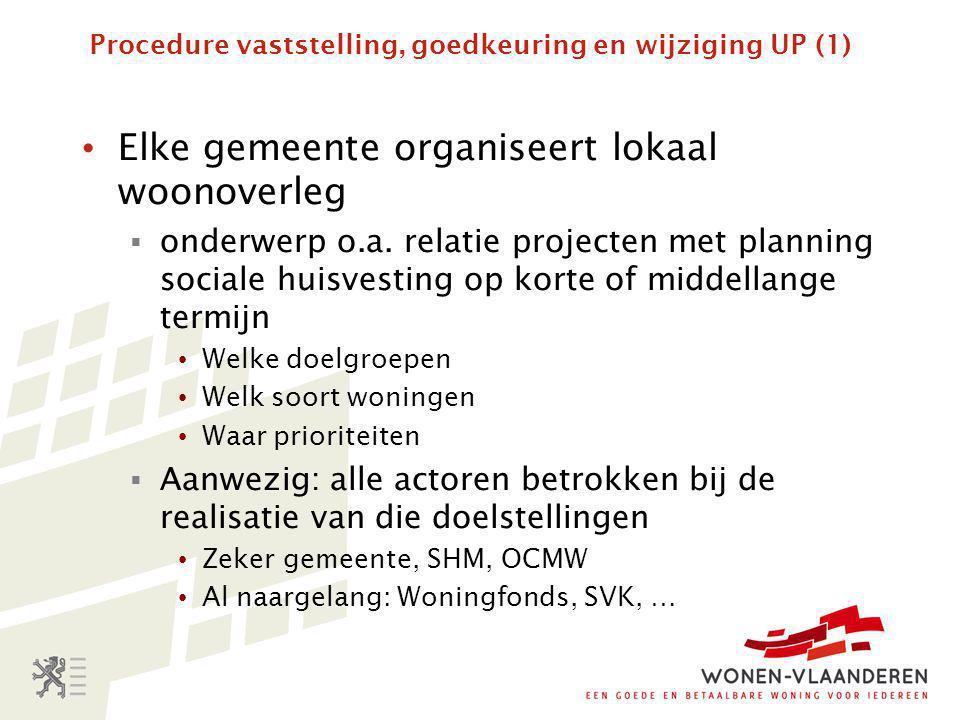 Procedure vaststelling, goedkeuring en wijziging UP (1)