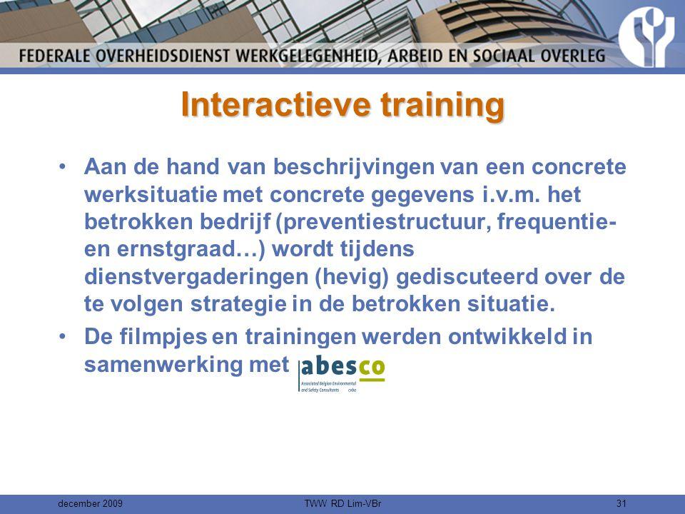 Interactieve training
