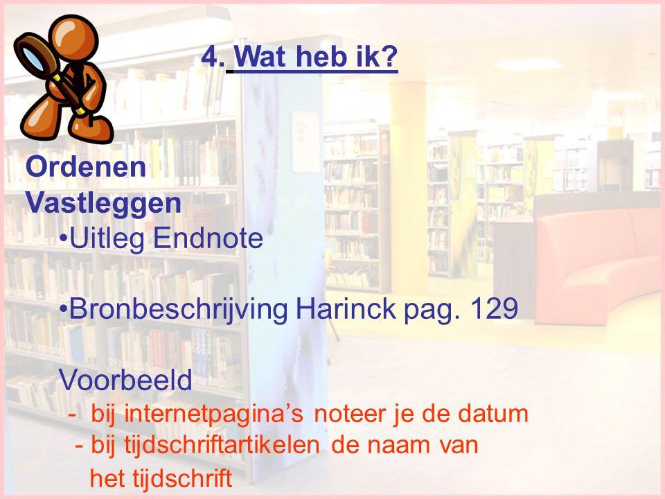 Bronbeschrijving Harinck pag. 129 Voorbeeld