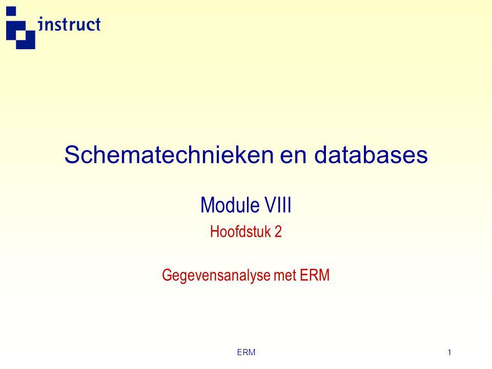 Schematechnieken en databases