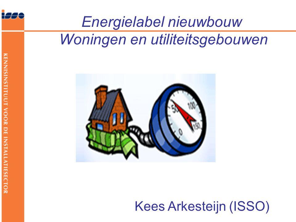Energielabel nieuwbouw Woningen en utiliteitsgebouwen