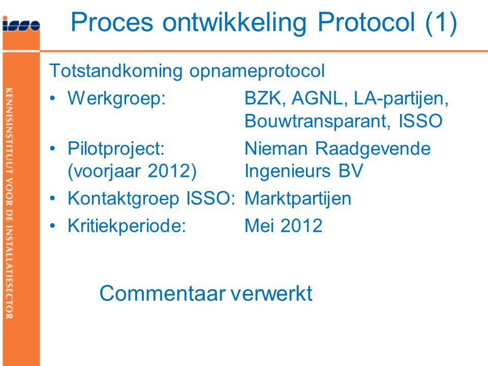 Proces ontwikkeling Protocol (1)