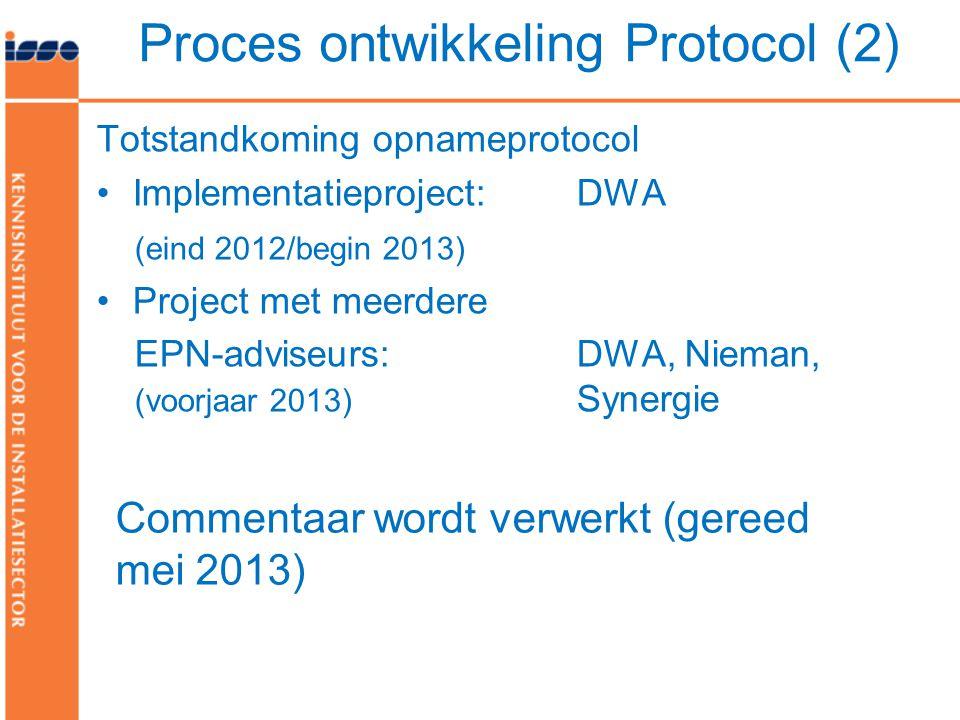 Proces ontwikkeling Protocol (2)