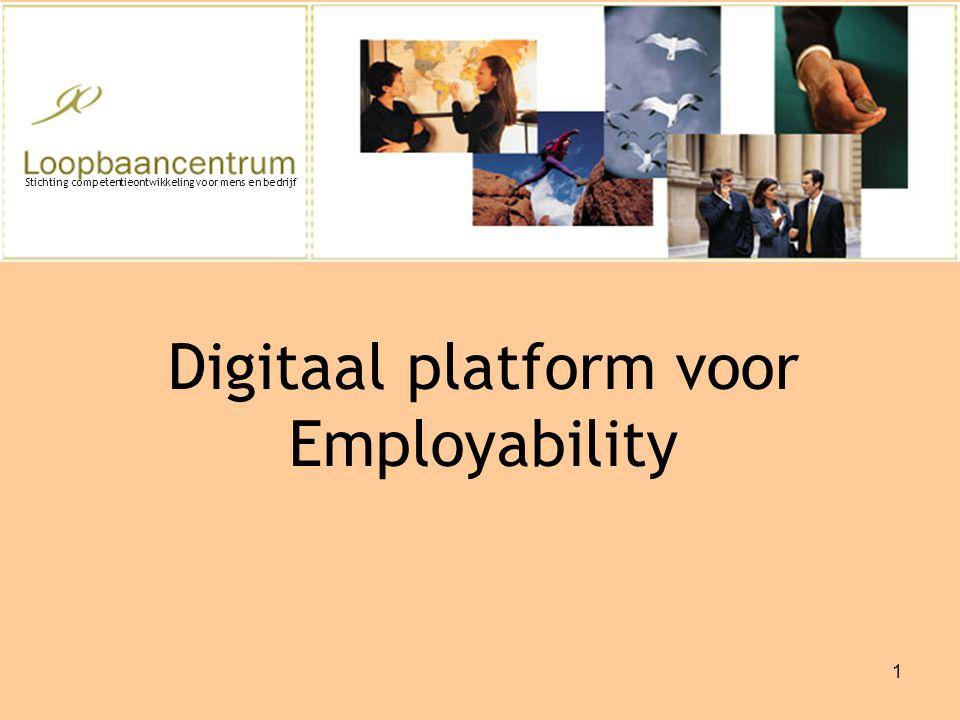 Digitaal platform voor Employability
