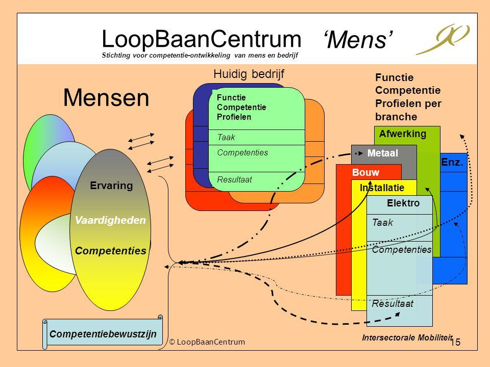 'Mens' Mensen LoopBaanCentrum Huidig bedrijf