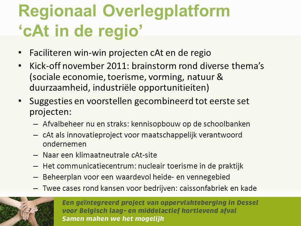 Regionaal Overlegplatform 'cAt in de regio'