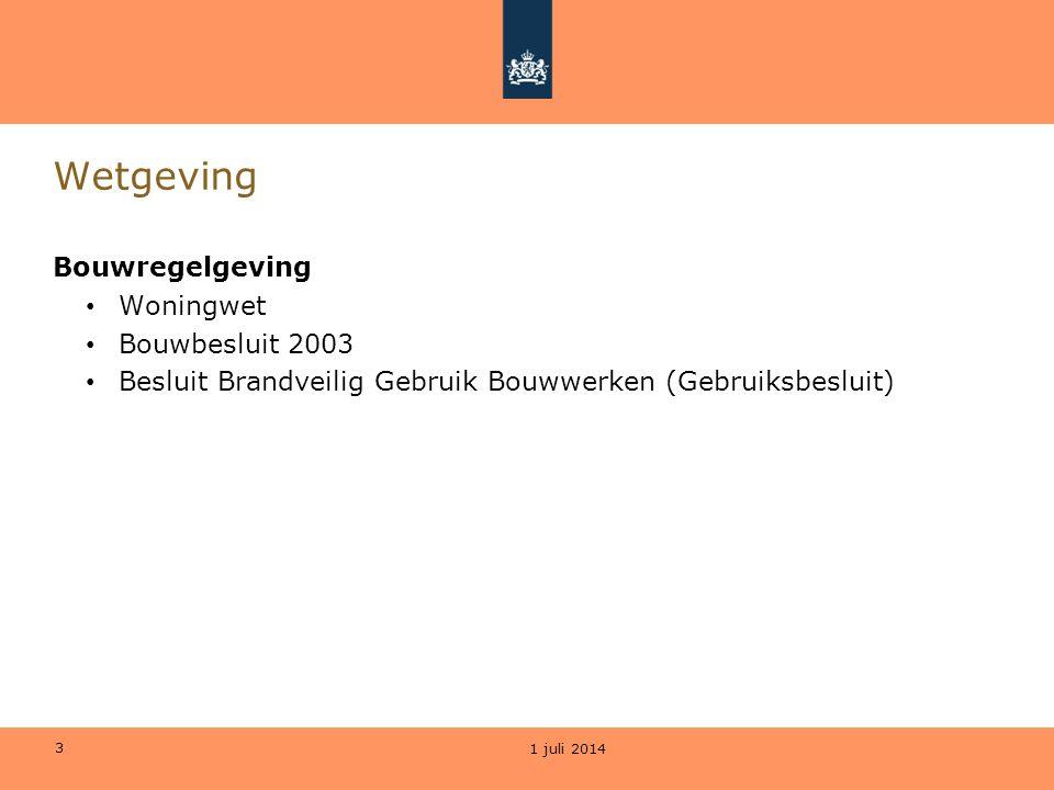Wetgeving Bouwregelgeving Woningwet Bouwbesluit 2003