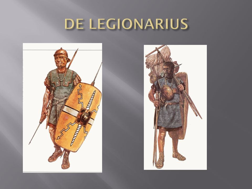 DE LEGIONARIUS