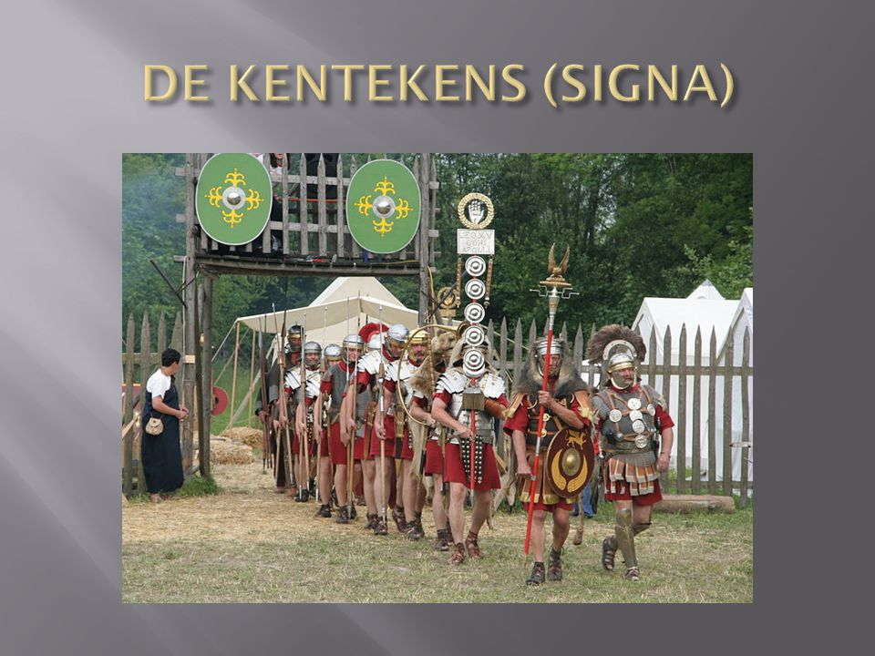 DE KENTEKENS (SIGNA)