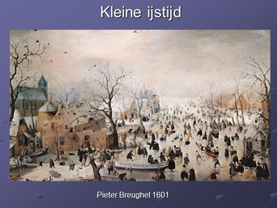 Kleine ijstijd Pieter Breughel 1601
