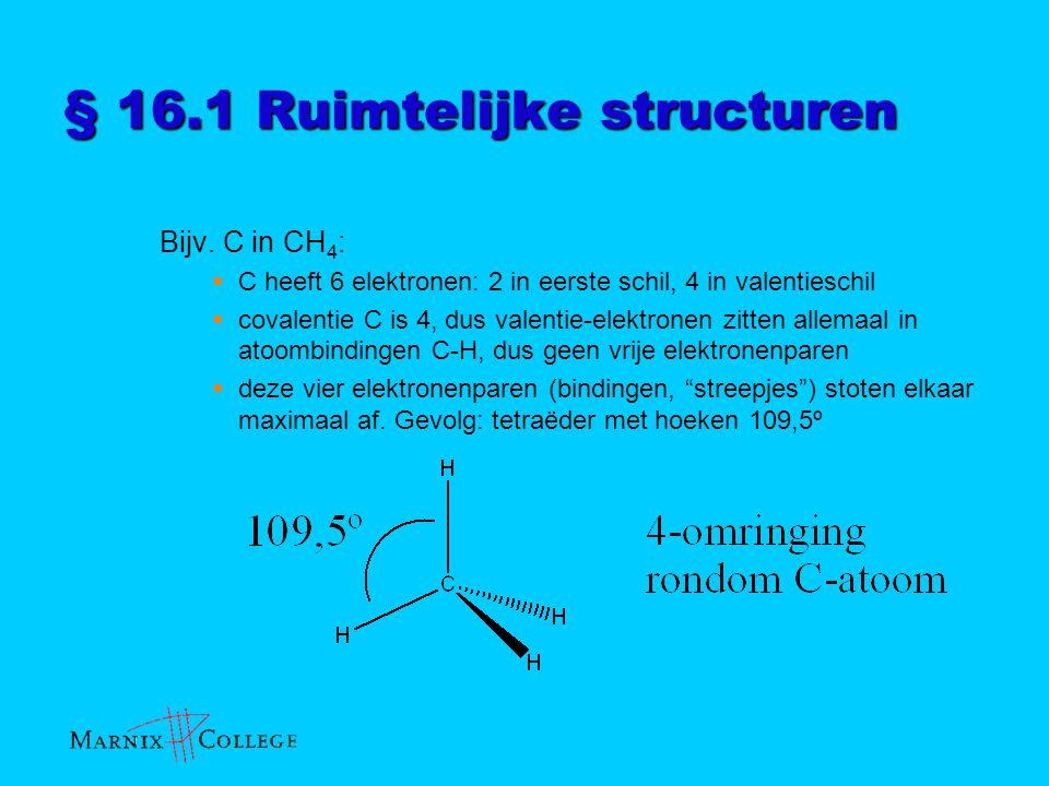§ 16.1 Ruimtelijke structuren