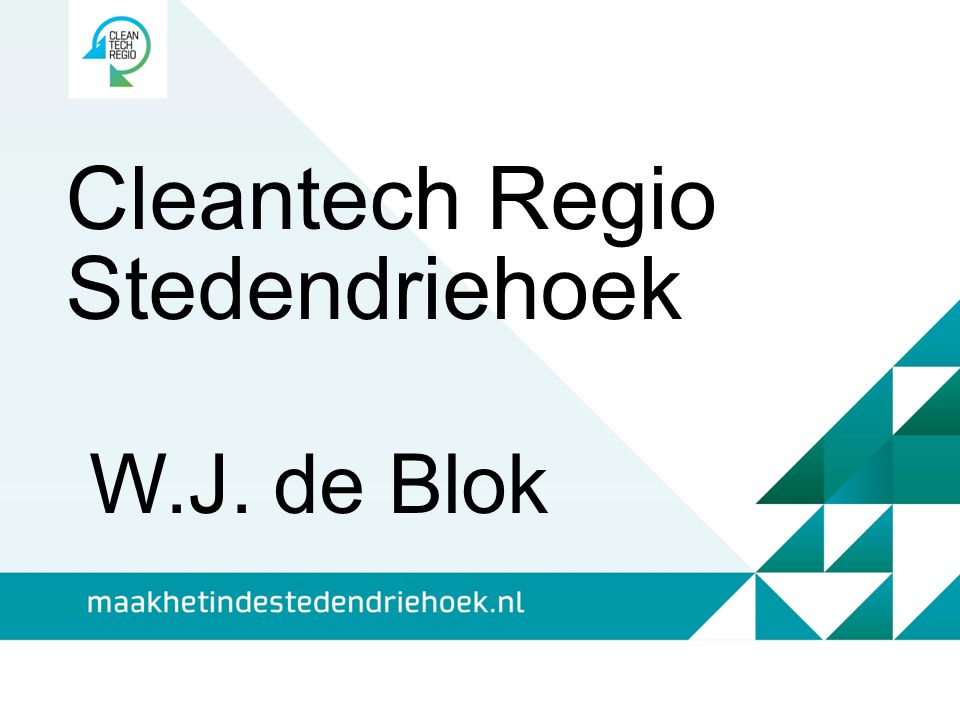 Cleantech Regio Stedendriehoek