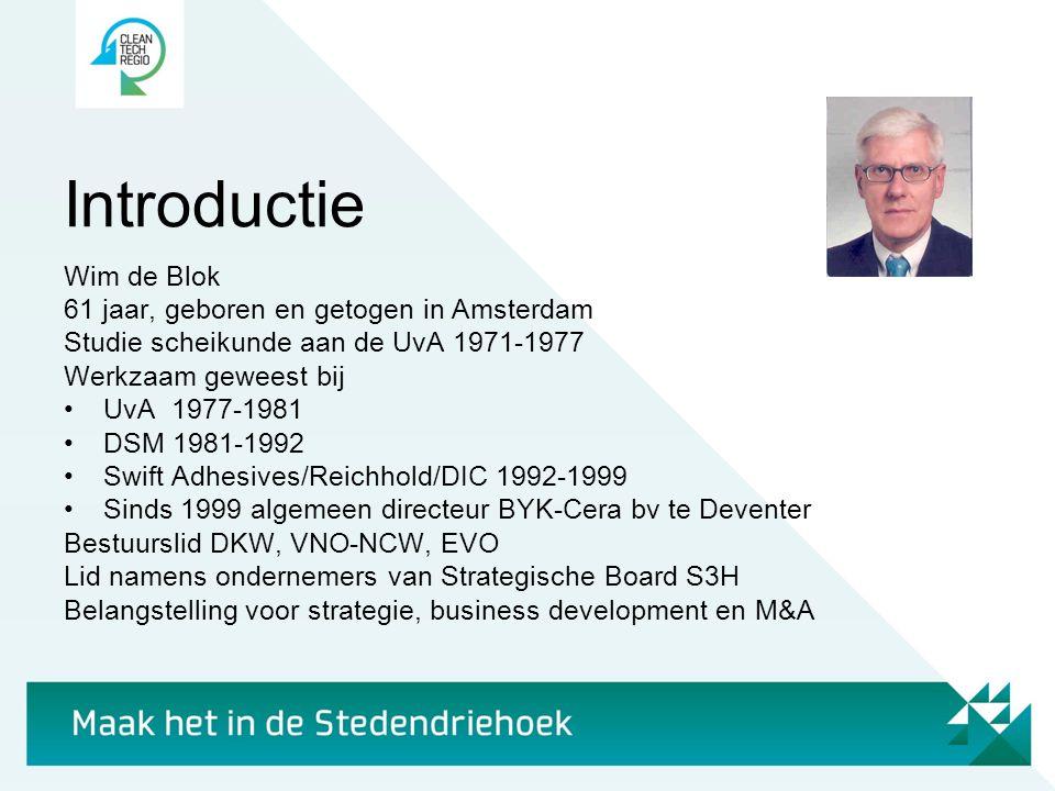 Introductie Wim de Blok 61 jaar, geboren en getogen in Amsterdam