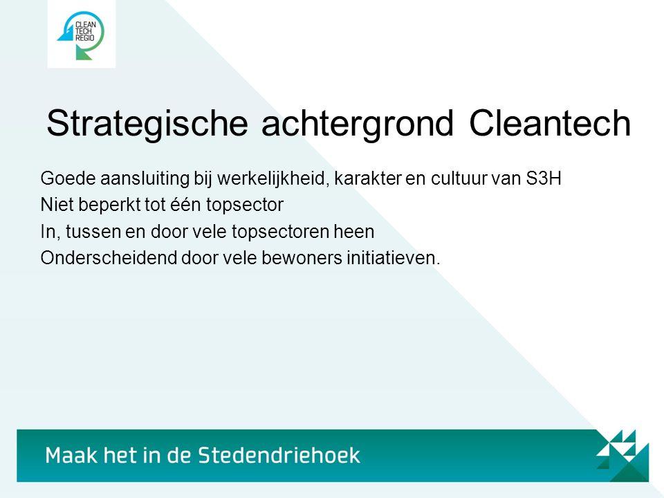 Strategische achtergrond Cleantech
