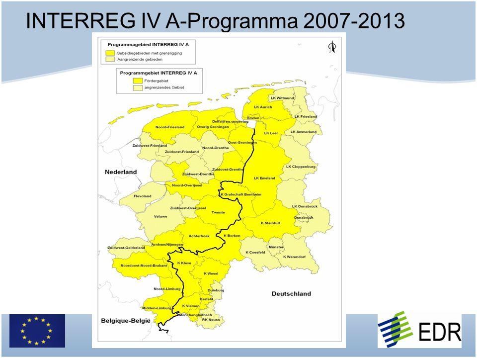 INTERREG IV A-Programma 2007-2013