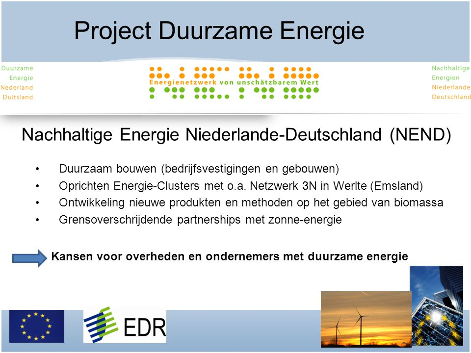 Project Duurzame Energie