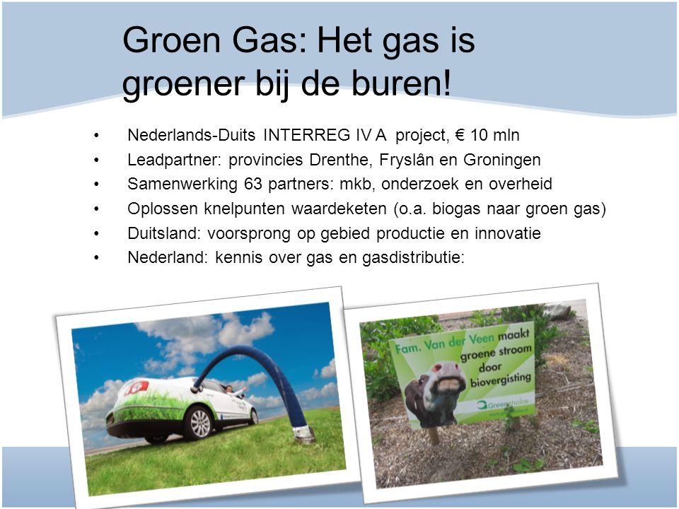 Groen Gas: Het gas is groener bij de buren!
