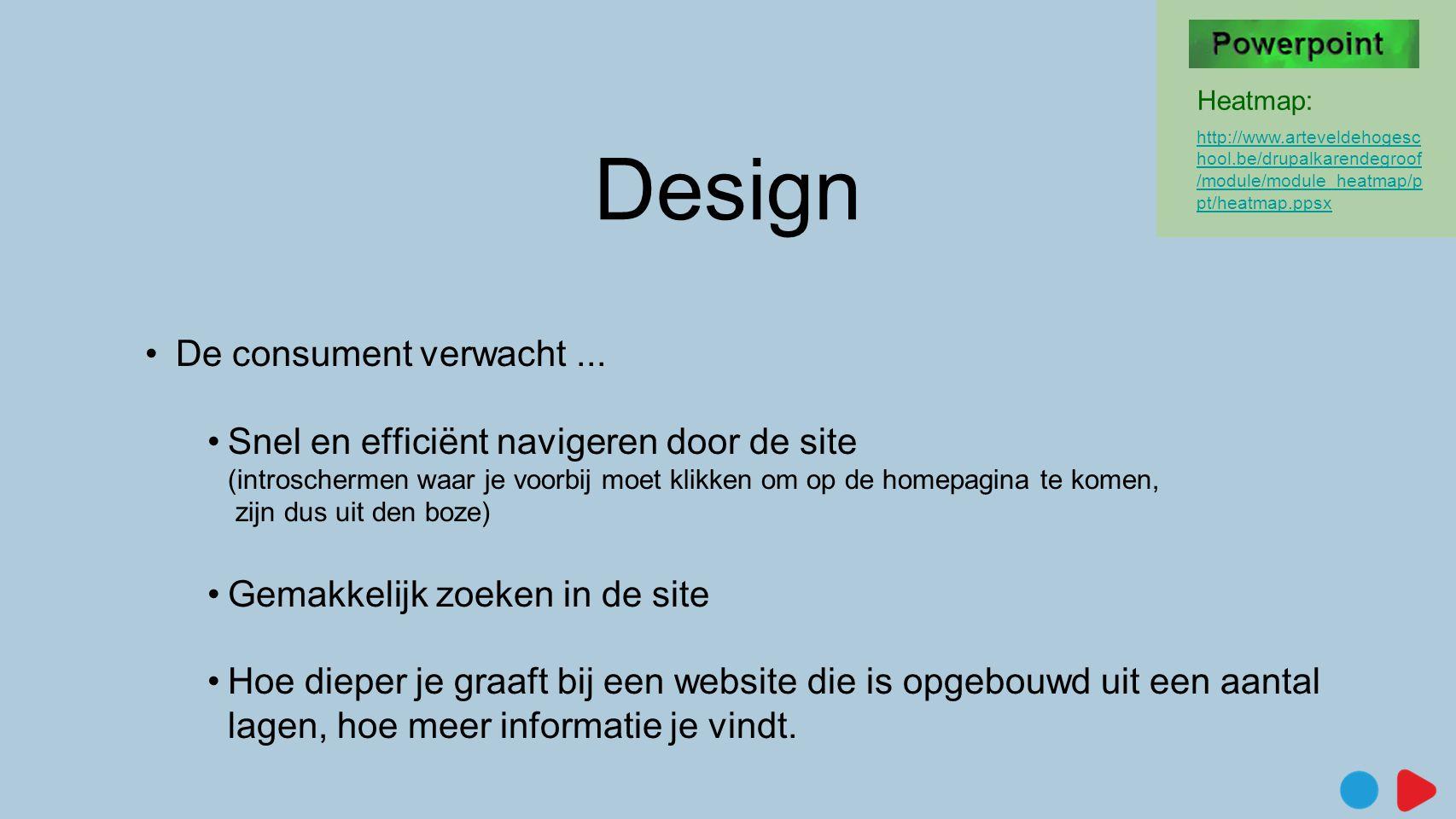 Design De consument verwacht ...