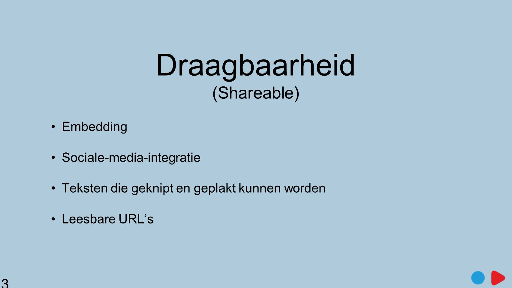 Draagbaarheid (Shareable)