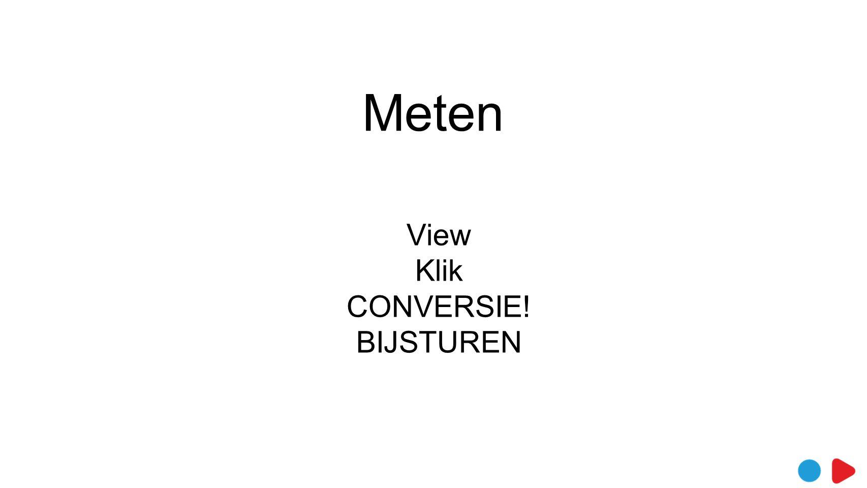 View Klik CONVERSIE! BIJSTUREN