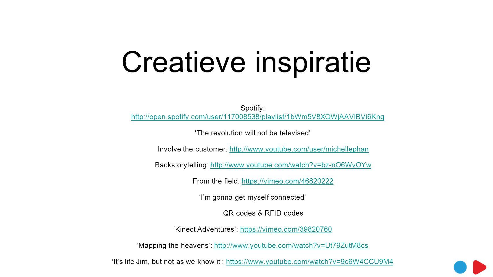 Creatieve inspiratie